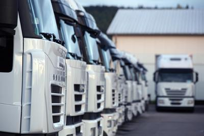 Camiones del Grupo Valpri